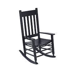 Garden Treasures Set Of Rocking Chairs With Slat Seat At Lowes.com