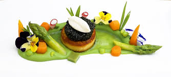 blumenwiese malossol kaviar erbse kartoffelgalette