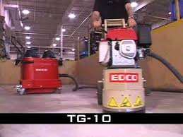 Edco Floor Grinder Polisher by Watch 10