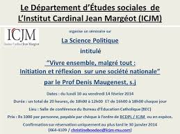 bureau de l education catholique institut cardinal jean margéot home