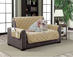 slipcover microfiber reversible pet dog couch protector cover