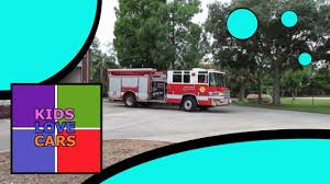 100 Fire Trucks Youtube Real With Sirens For Children Kids In