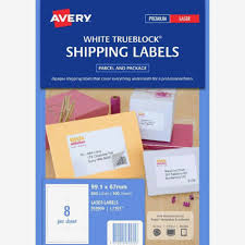 Avery Half Sheet Shipping Label Template Per Labels Word Full Page