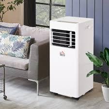 homcom mobile klimaanlage 3 in 1 klimagerät kühlen
