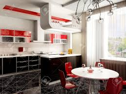 100 Pop Art Interior 3d Rendering Of The Kitchen Interior In Popart Style