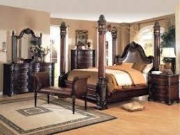 King Poster Bedroom Set Foter