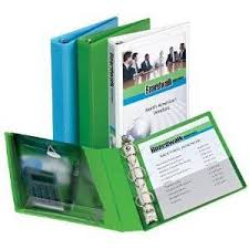 Decorative Small 3 Ring Binders by Avery R Durable View Binder 1 1 2