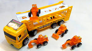 Toys For Children, Semi-trailer Truck! Do Not Miss This Amazing ... Cstruction Trucks Toys For Children Tractor Dump Excavators Truck Videos Rc Trailer Truckmounted Concrete Pump K53h Cifa Spa Garbage L Crane Flatbed Bulldozer Launches Ferry Excavator Working Tunes 1 Full Video 36 Mins Of Truck Videos For Kids Vehicles Equipment The Kids Picture This Little Adorable Road Worker Rides His Tonka Toy Tow And Toddlers 5018 Bulldozers Vs Scrapers