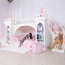 0125tb005 europäischen stil moderne mädchen schlafzimmer möbel prinzessin castle kinder bett mit rutsche lagerung schrank doppel bett