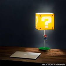 Super Mario Question Block Lamp Ebay by The Year Of Sidekick Louisa Nintendo Love Pinterest Super