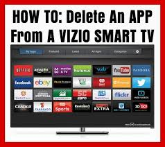 how to delete apps from a vizio smart tv removeandreplace