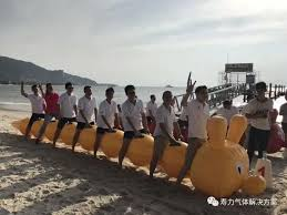 Our Trainers At The Base Had Already Set Up Tents On Beach And Prepared Many Activities After Warm Ups Team Was Divided Into Four Groups