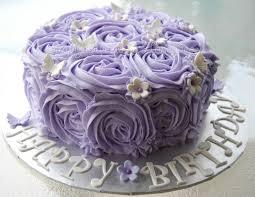 Purple Rose clipart birthday cake 5