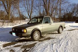 1982 Volkswagen Rabbit Pickup Black Tie Special Edition Diesel Caddy ...