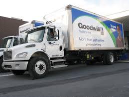 100 Goodwill Truck Industries Various Fleet Vehicle Graphics Exhibit Studios