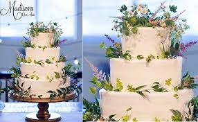 Meadow Flower Wedding Cake By Madisons On Main Kevin Paul Photography