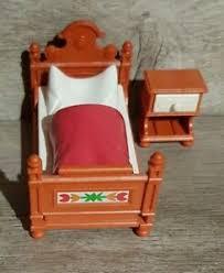 playmobil zubehör schlafzimmer zum puppenhaus ebay