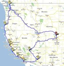 Maps Road Map California Trip Related Keywords Amp Suggestions Pdf