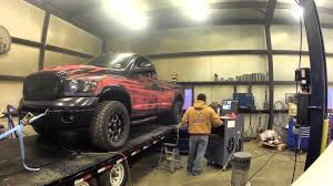 Coffman Customs Goose 695hp Dyno Pull - YouTube