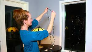 how to attach lights to the inside of a window