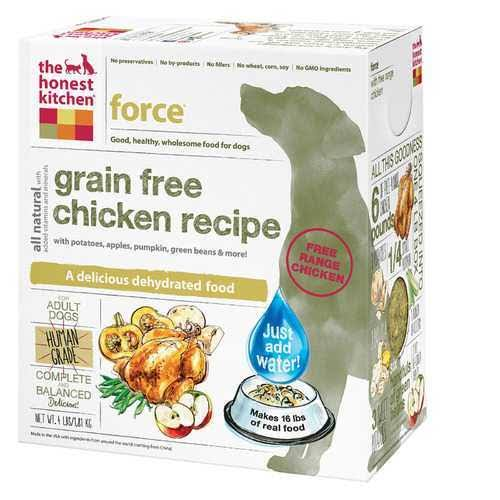 The Honest Kitchen Grain Free Dog Food - Chicken, 4lb