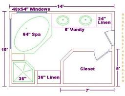 Small Master Bathroom Floor Plan by Bathroom Design Floor Plans On Free 10x14 Master Bath Floor Plan