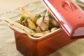 comment cuisiner des crosnes recette de cocotte de légumes oubliés cerfeuil tubéreux