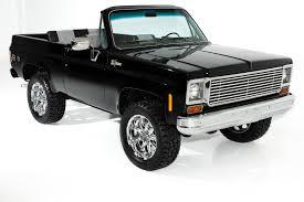 100 K5 Truck 1975 Chevrolet Blazer 4WD Fully Topless Show