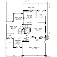 Mediterranean Style House Plan 5 Beds 3 00 Baths 3036 Sqft 1