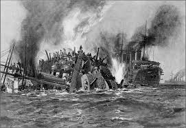 Rms Olympic Sinking U Boat disaster 1914 the loss of hms aboukir cressy and hogue dawlish
