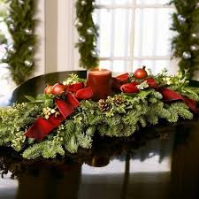 Victorian Christmas Table Decorations 06 On Dining Room Centerpieces