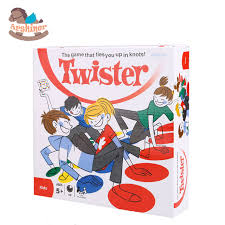 Arshiner Kid Educational Toy Twister Family Board Game Fun Party Mat Toys Gags Practical