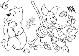Piglet Cleaning Up Winnie The Pooh Coloring Pages Printable And Book To Print For Free Find More Online Kids Adults Of