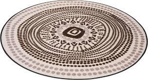 teppich boho style wash by kleen tex rund höhe 7 mm in und outdoor geeignet waschbar wohnzimmer kaufen otto