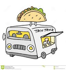 Mexican Taco Food Truck Stock Vector. Illustration Of Business ...