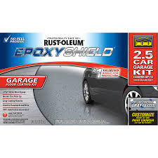 shop rust oleum epoxyshield 2 part gray gloss garage floor epoxy