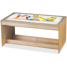 amazon com jonti craft large light activity table kitchen u0026 dining
