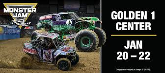 Monster Jam | Golden1Center Monster Jam Crush It Playstation 4 Gamestop Phoenix Ticket Sweepstakes Discount Code Jam Coupon Codes Ticketmaster 2018 Campbell 16 Coupons Allure Apparel Discount Code Festival Of Trees In Houston Texas Walmart Card Official Grave Digger Remote Control Truck 110 Scale With Lights And Sounds For Ages Up Metro Pcs Monster Babies R Us 20 Off For The First Time At Marlins Park Miami Super Store 45 Any Purchases Baked Cravings 2019 Nation Facebook Traxxas Trucks To Rumble Into Rabobank Arena On