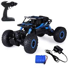 Buy Mousepotato 1:18 4WD Rally Car Rock Crawler Off Road Race ...