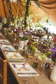 Decoration Table Mariage Rustique