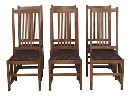 Stickley Mission Oak Arts & Crafts Dining Chairs- Set Of 6 Antique Arts Crafts Mission Youth High Chair Original Local Pick Up Mission Oak Library Table Desk 42 12 Across 26 Deep 30 Pressed Back 39 At 18 To Seat Victgeorgian Childs Metamorphic A Set Of Four Style Oak High Back Ding Chairs Mode 3 Ways To Increase The Height Ding Chairs Wikihow Vintage Arts And Crafts Or Mission Plant Stand Style Oak Tv Stands The Fniture Shop Stow Leaf Set Dark Bow Arm Morris Brown Cherry Tags Maple Big Armchair Pair In Charles Rohlfs
