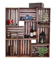Wood Crate Shelf Diy by Creative Diy Project Ideas From Old Crates