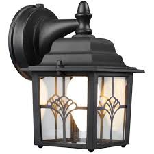 Brinks Augustine Lantern Dusk To Dawn Activated Outdoor Security