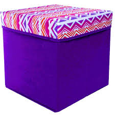 Rock Your Room Printed Storage Ottomans FiveBelow For Just