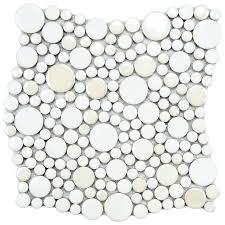 Home Depot Merola Penny Tile by 26 Best Fireplace Tile Options Images On Pinterest Bathroom