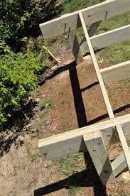 how to build a post u0026 beam shed foundation on a slope one