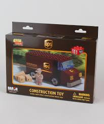 Daron Worldwide Trading, Inc. UPS Truck Construction Toy | Zulily