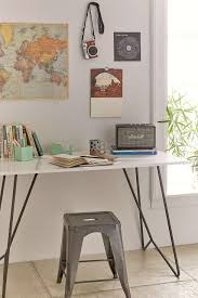 Dorm Room Ideas For Design Trends With Urban Outfitters Living Picture Metal Desk From