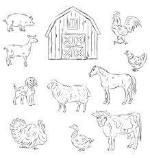 Best s of Cut Out Farm Animal Patterns Farm Animals Cut Out