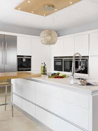 White Gloss Kitchen Design Ideas by Kitchen Charming Kitchen Decoration Using Mount Wall White Wood